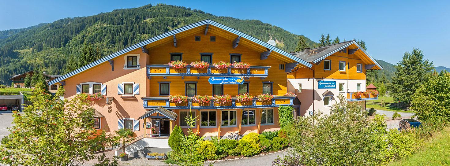 Kontakt & Anreise zum Hammerwirt-Forellenhof, Untertauern