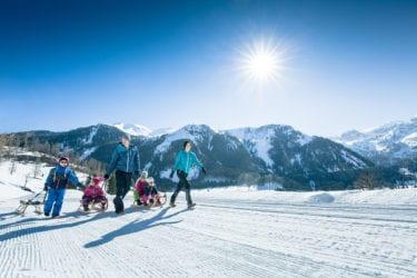 Rodeln in Obertauern – Salzburger Land