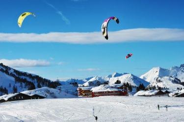 Snowkiten in Obertauern – Salzburger Land