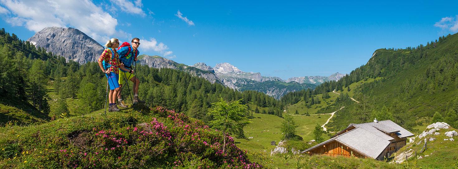 Wandern im Sommerurlaub in Obertauern