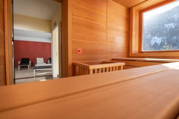 Wellnessbereich im 3-Sterne Hotel in Untertauern/Obertauern